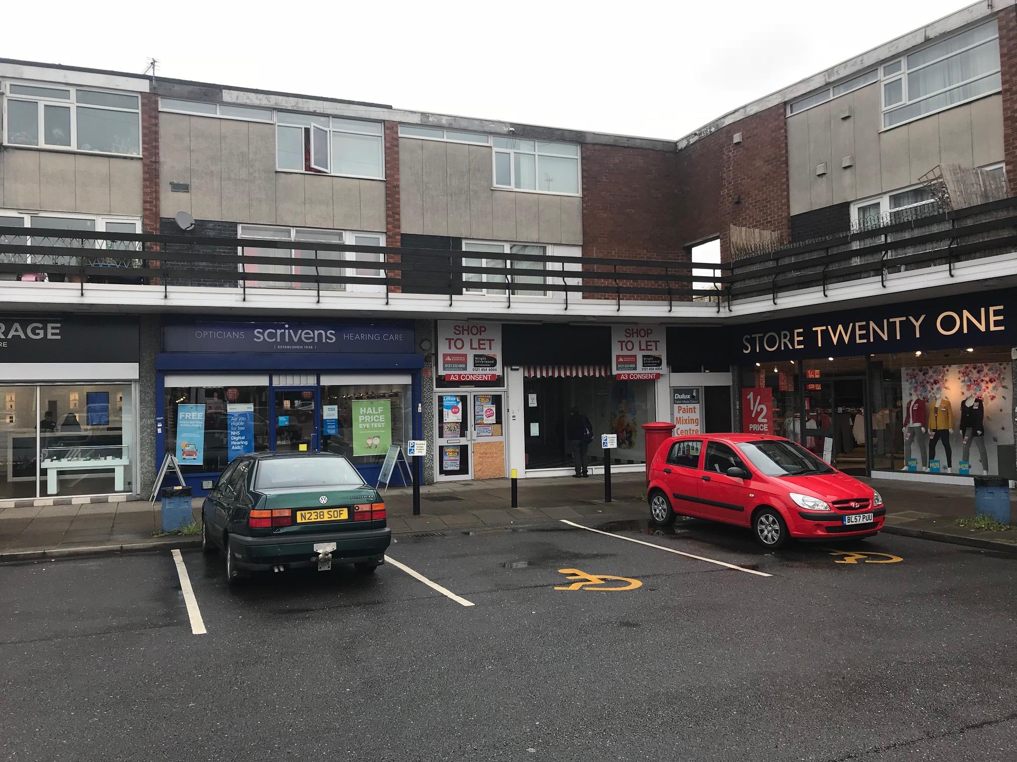Birmingham Shopping Centre Car Park